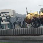 Monumento ao Carreteiro (Praça Dr. António Feio  Ribeiro da Silva)