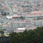 Vista panorâmica de Santa Luzia para a cidade