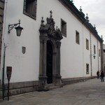 Entrada da Igreja da Misericórdia (Rua da Bandeira)