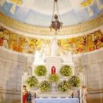 Altar-mor do Templo de Santa Luzia.